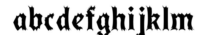 LindbergCaffeine Font LOWERCASE