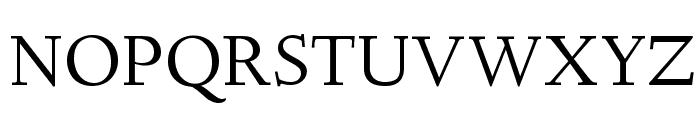 Linden Hill Regular Font UPPERCASE