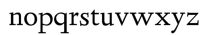 Linden Hill Regular Font LOWERCASE