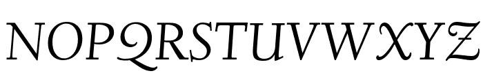 Linden Hill TT Italic Font UPPERCASE