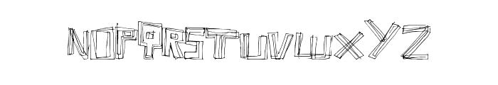 LineFever Font UPPERCASE