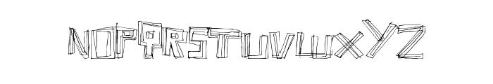 LineFever Font LOWERCASE