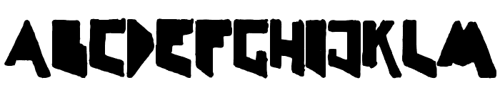 LineLineShapeDirty Font LOWERCASE