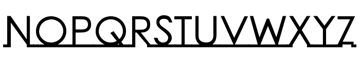 Linearmente-Bold Font UPPERCASE