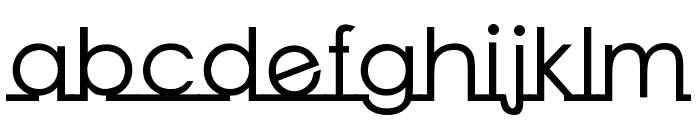 Linearmente-Bold Font LOWERCASE