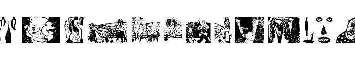 LineartOne Font UPPERCASE