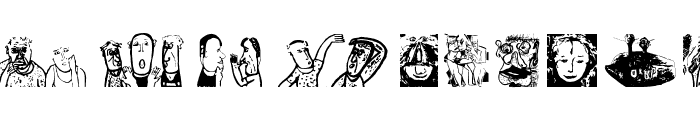 LineartOne Font LOWERCASE