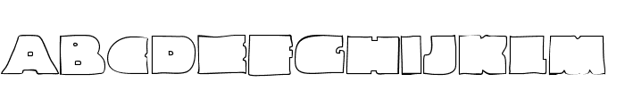 Linemaster-Regular Font UPPERCASE