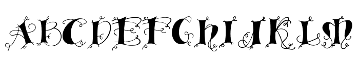 Linger demo Font UPPERCASE