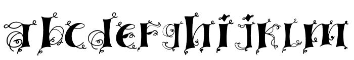 Linger demo Font LOWERCASE