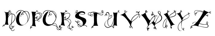 Lingerdemo Font UPPERCASE