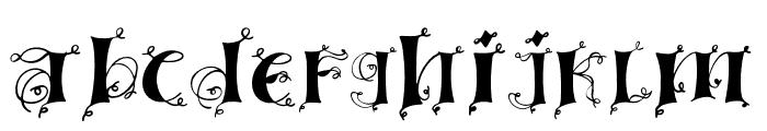Lingerdemo Font LOWERCASE