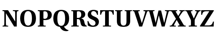 LinguisticsPro-Bold Font UPPERCASE