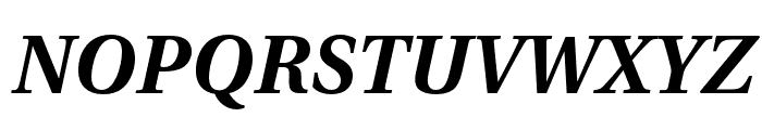 LinguisticsPro-BoldItalic Font UPPERCASE