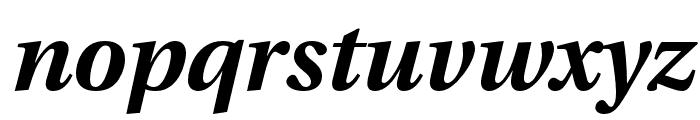 LinguisticsPro-BoldItalic Font LOWERCASE