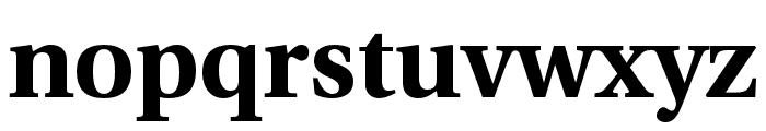 LinguisticsPro-Bold Font LOWERCASE