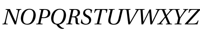 LinguisticsPro-Italic Font UPPERCASE