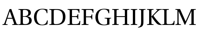 LinguisticsPro-Regular Font UPPERCASE