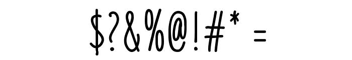 Liniga Font OTHER CHARS