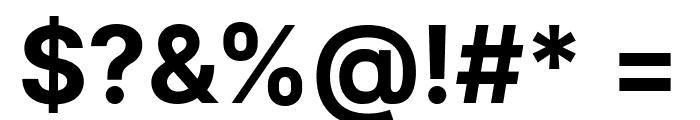 LinikSans-Bold Font OTHER CHARS