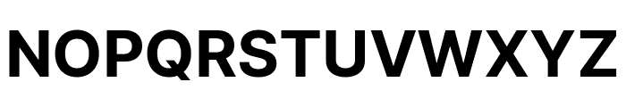 LinikSans-Bold Font UPPERCASE