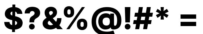 LinikSans-ExtraBold Font OTHER CHARS