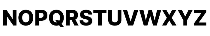 LinikSans-ExtraBold Font UPPERCASE