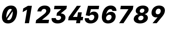 LinikSans-ExtraBoldItalic Font OTHER CHARS
