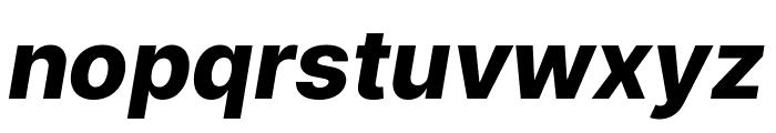 LinikSans-ExtraBoldItalic Font LOWERCASE