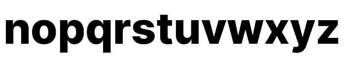 LinikSans-ExtraBold Font LOWERCASE
