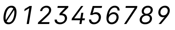 LinikSans-Italic Font OTHER CHARS