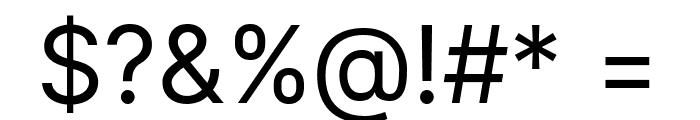 LinikSans-Regular Font OTHER CHARS