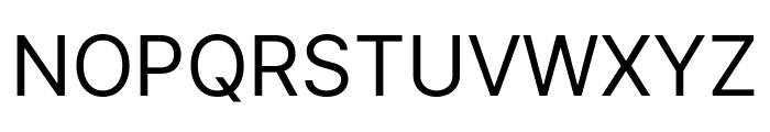 LinikSans-Regular Font UPPERCASE