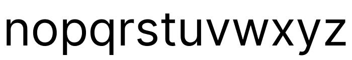 LinikSans-Regular Font LOWERCASE