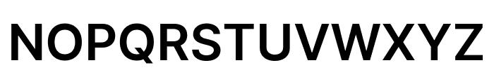 LinikSans-SemiBold Font UPPERCASE