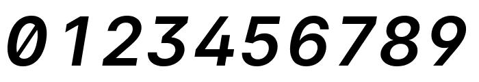 LinikSans-SemiBoldItalic Font OTHER CHARS
