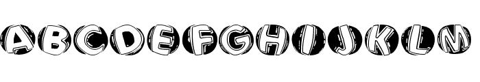 LinocapsBR Font LOWERCASE