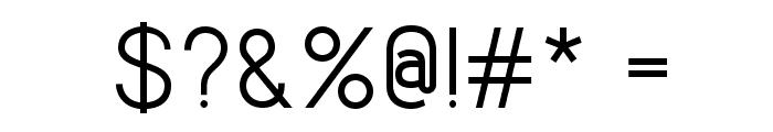 Lintel Font OTHER CHARS