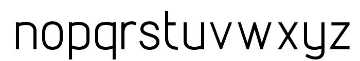 Lintel Font LOWERCASE