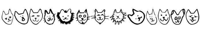 LinusFace AOE Font LOWERCASE