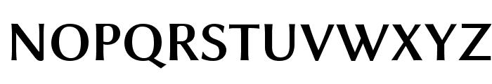 Linux Biolinum Bold Font UPPERCASE
