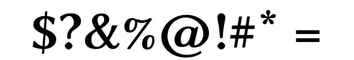 Linux Biolinum Capitals Bold Font OTHER CHARS