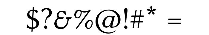 Linux Biolinum Capitals Font OTHER CHARS