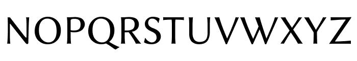 Linux Biolinum Capitals Font UPPERCASE