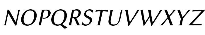 Linux Biolinum O Italic Font UPPERCASE