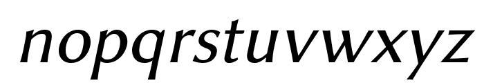 Linux Biolinum O Italic Font LOWERCASE