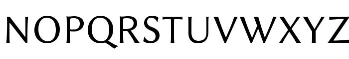 Linux Biolinum O Font UPPERCASE