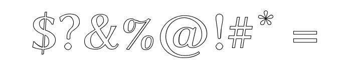 Linux Biolinum Outline Bold Font OTHER CHARS