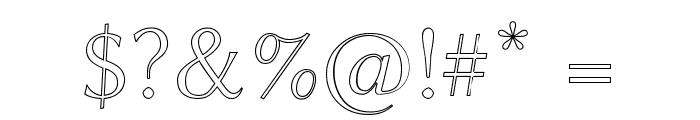 Linux Biolinum Outline Font OTHER CHARS
