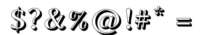 Linux Biolinum Shadow Bold Font OTHER CHARS